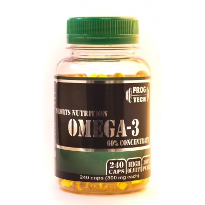 Frog Tech Omega-3 240 капсул 300 мг